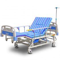 永辉护理床 家用多功能翻身床 瘫痪病人床 手动全曲护理床 C06